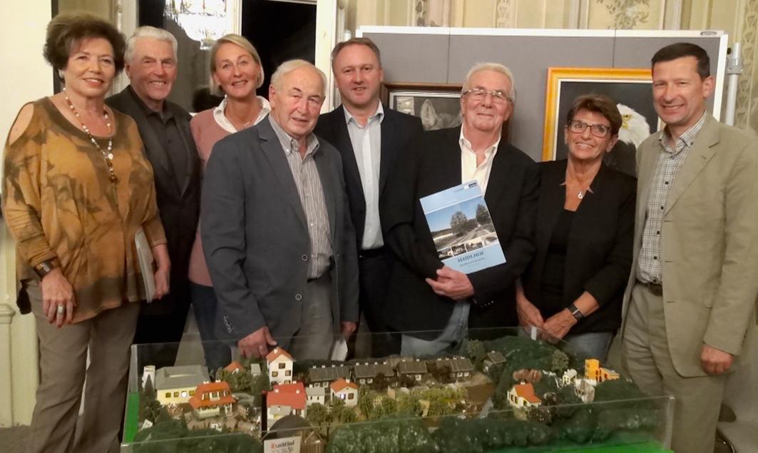 """Präsentation des """"Haidlhof"""" - Buches von Johann Redl"""
