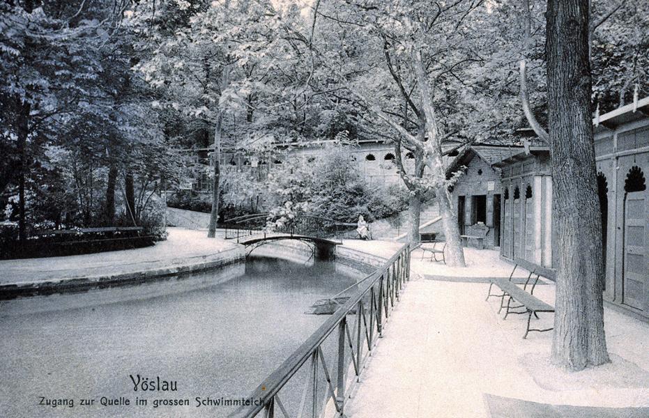 Bad Vöslau einst und jetzt – Thermalbad Innenansichten
