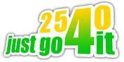 Logo: 2540 Just go 4 it